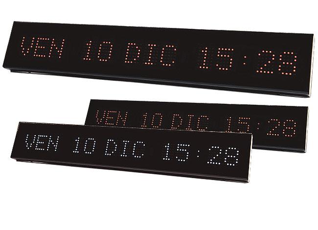 Calendario Elettronico.Display E Datari Sirio Orologio Calendario Sincronizzato