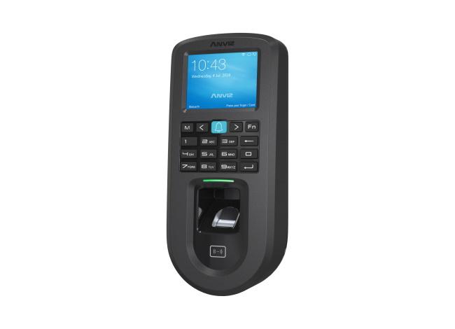 Linux ad alte prestazioni card rfid e PIN Tcp//ip PoE e Wi-fi. LCD 2,4 Anviz VF30 Pro controllo accessi: biometrico