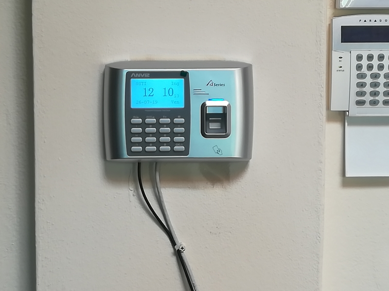 Time and Attendance System, Fingerprint, Card and PIN, A300 Rfid/FP wi-fi