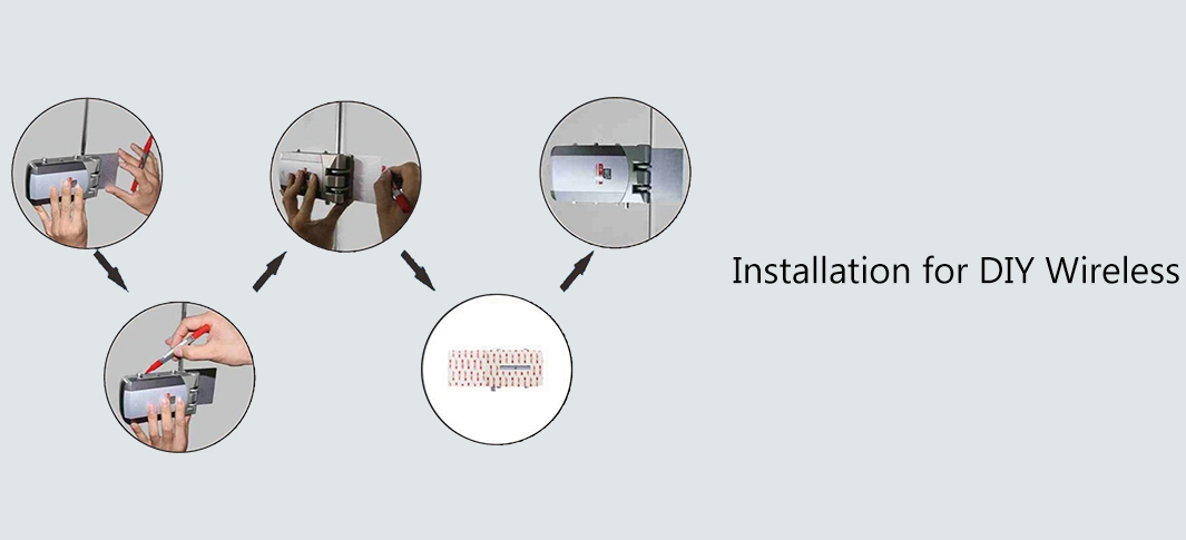 Controllo accessi Secukey GD3 wireless installazione